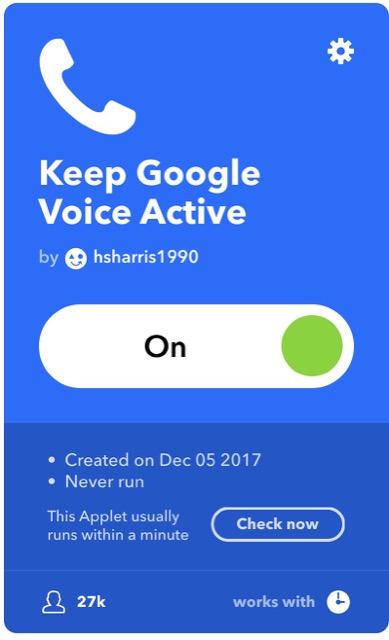 keep gv active