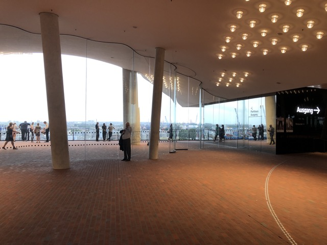 hamburg elbphilharmonie waiting hall