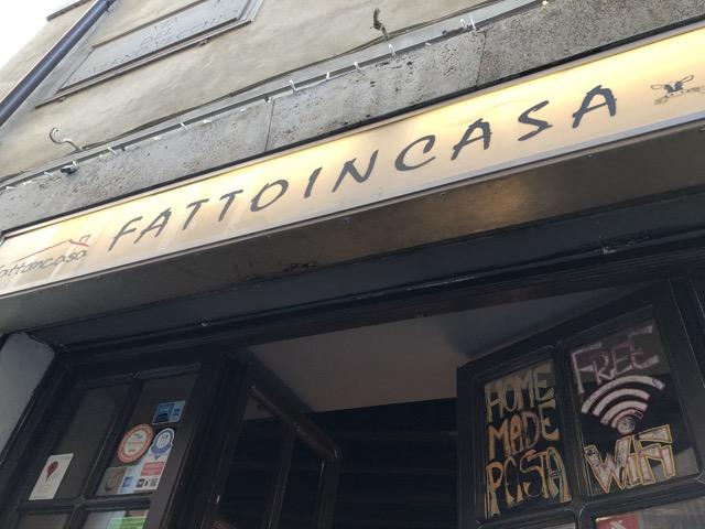 [二日遊系列] 羅馬餐廳 Fattoincasa by hosteria la danesina
