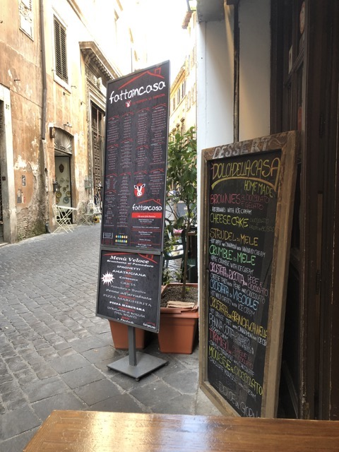 fattoinicasa entrance