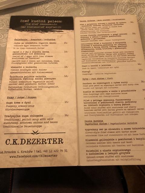 ck dezerter menu2