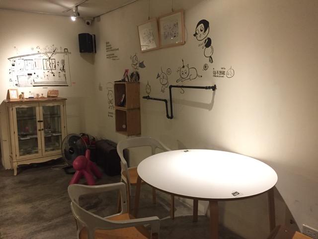 2F Cafe 角落空間