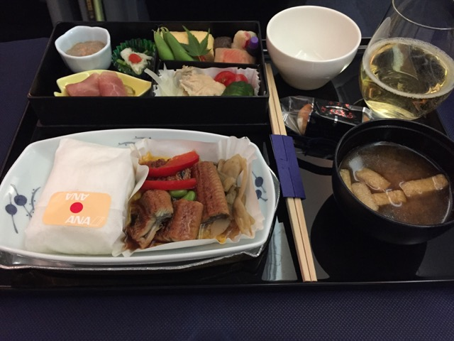 ANA NH853 meal