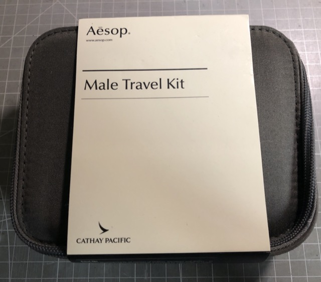 [體驗] CX 國泰航空長程線頭等艙過夜包