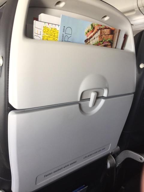 BA1332 seat