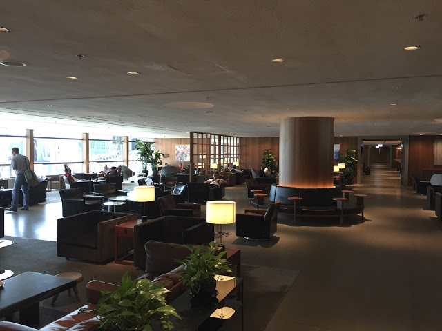 [貴賓室體驗] HKG 國泰航空玉衡堂 Cathay Pacific Lounge The Pier Hong Kong