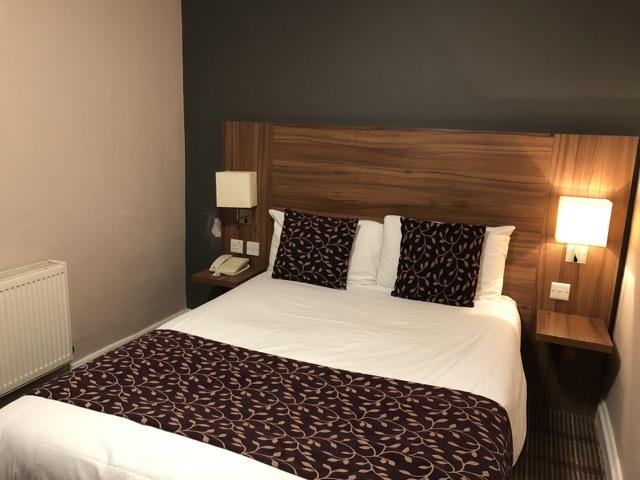 comfort inn kings cross room
