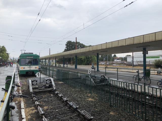 szentendre train platform