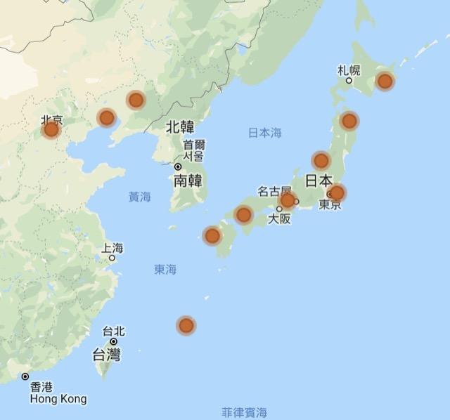 choice privilege map in asia