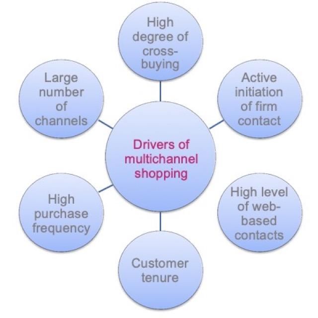 drivers of multichannels shopper