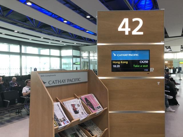 cx250 gate 42 lhr
