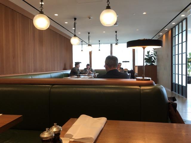 lhr cx first class lounge zone restaurant
