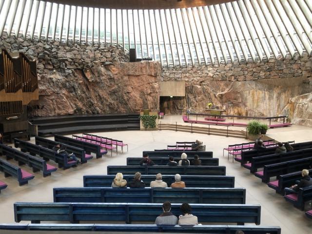 [二日遊系列] 芬蘭赫爾辛基 岩石教堂
