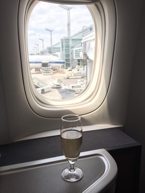 [飛行體驗] CX288 國泰航空商務艙 (FRA德國法蘭克福-HKG香港)