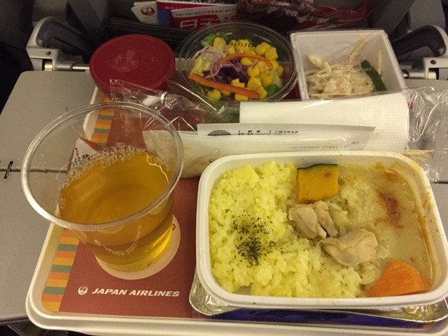 meal on the aircraft jl99