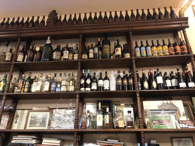 trattoria milanese wine