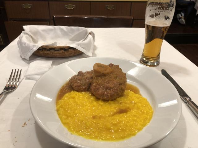 trattoria milanese risotto