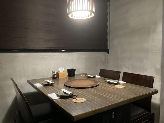 taichung-iwate-yakuniku table