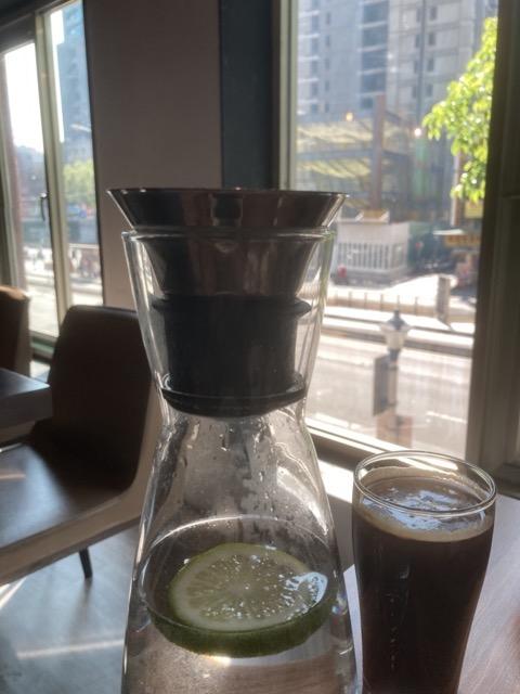jessie-wa-brunch-coffee water