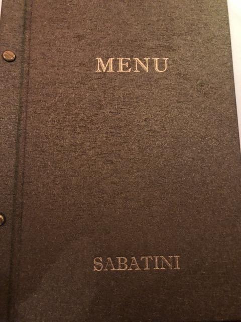 sabatini-cucina menu