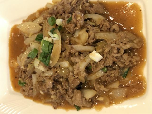 taipei-teppanyaki-tian-tong beef slice