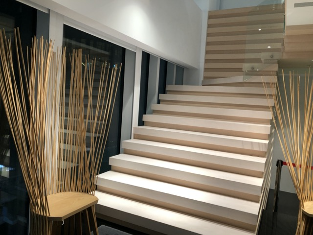 yume cafe stairs