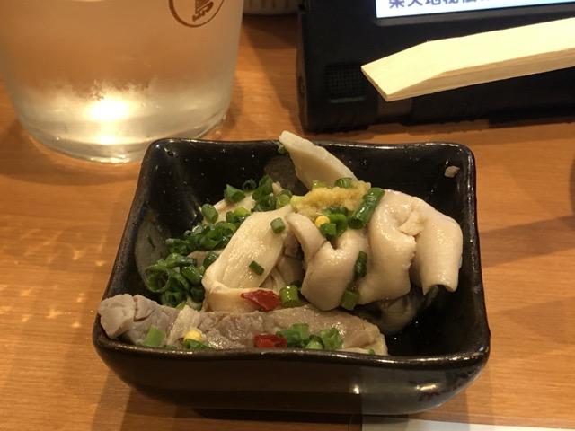 motsunabe fukuoka appetizer