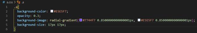 css-background-patterns-generator css demo