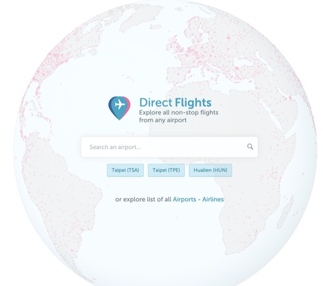 direct flight website index