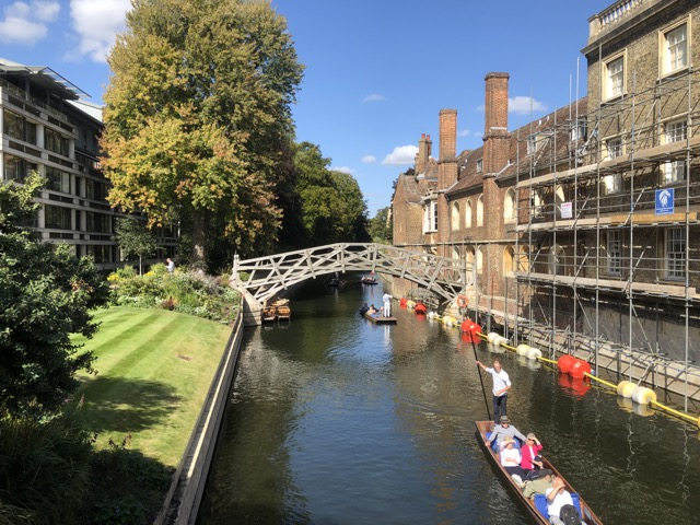 cambridge punting view