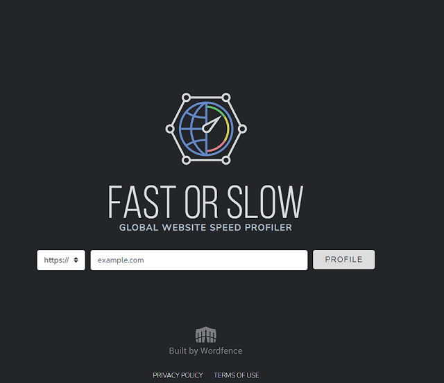 fast-or-slow-test-site-speed index