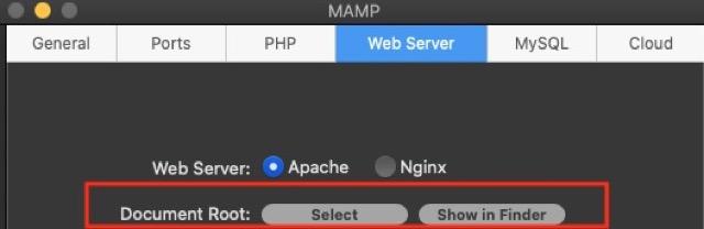mac-mamp Setting2