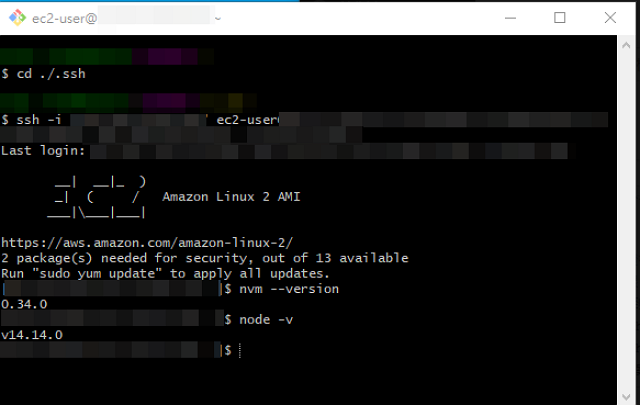 aws setting ec2 demo8