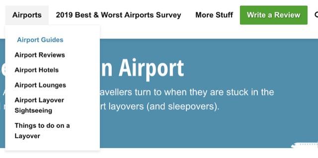 sleeping at airport index