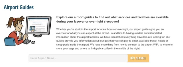 sleeping at airport search