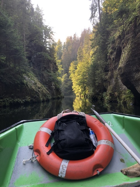 bohemian switzerland park boat