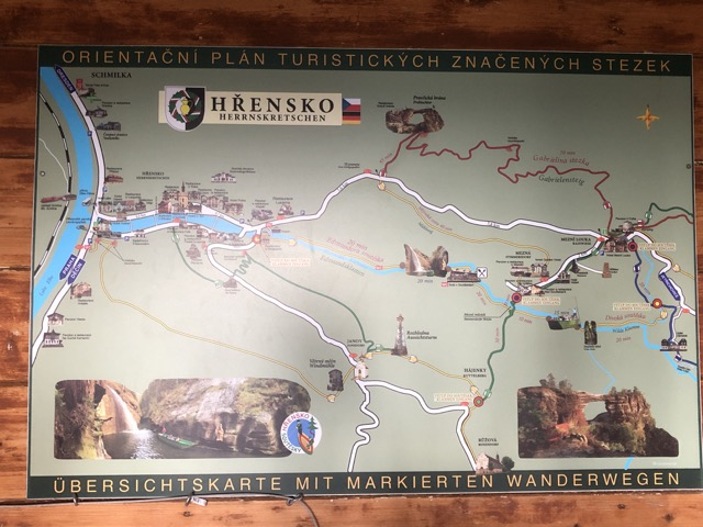 bohemian switzerland park map