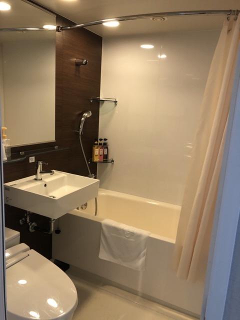 comfort hotel inn kanda bathroom