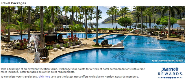 Cover Marriott Package