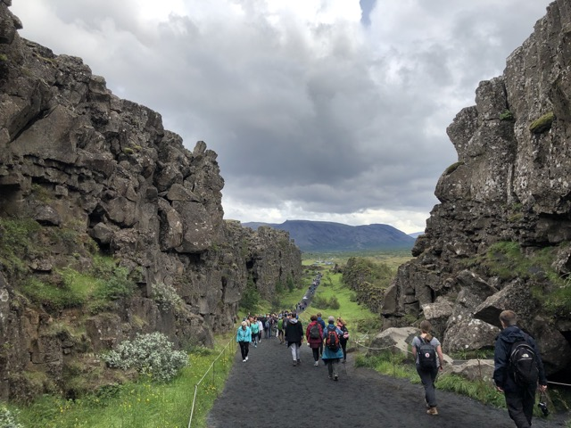 iceland ÞINGVALLAVATN national park 2