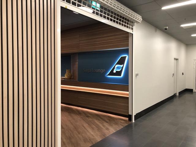 saga lounge entrance