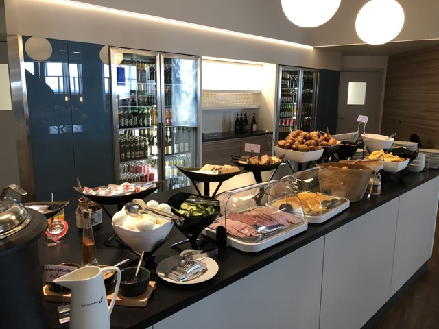 saga lounge food