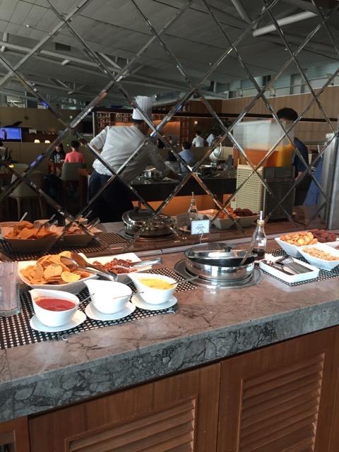 asiana lounge food