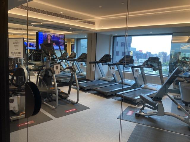 ihg-indigo-taipei-taiwan fitness room