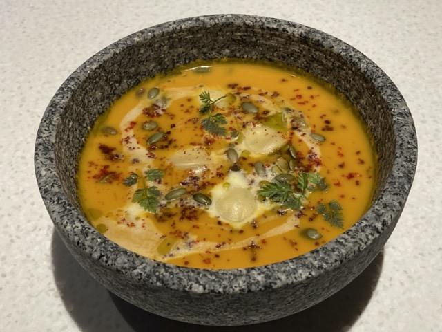 ihg-indigo-taipei-taiwan pampkin soup