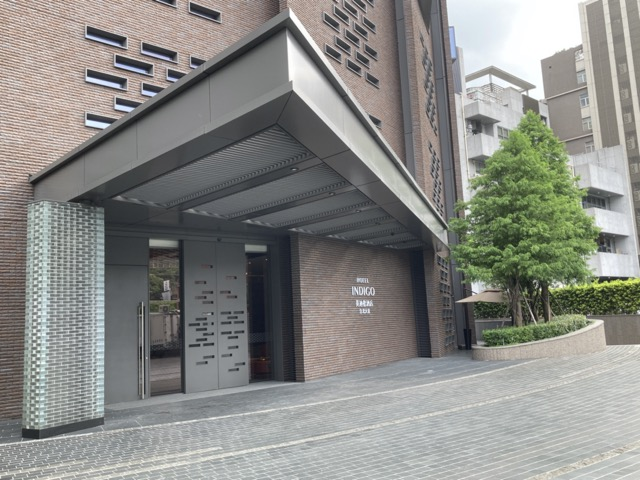 ihg-indigo-taipei-taiwan entrance