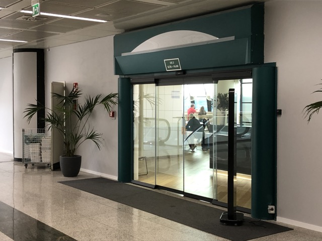 passenger lounge entrance