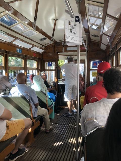 lisbon-tram inside