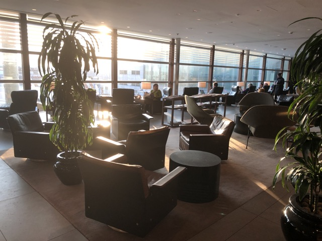 cathay lounge lhr surrounding