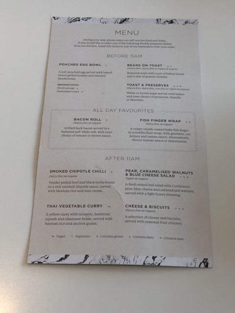 edi no1 lounge menu